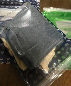 衣類圧縮袋 リムーブエアー