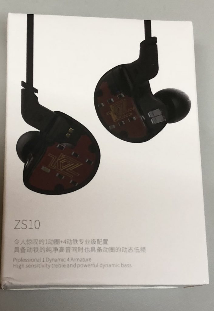 Z ZS10ハイブリッド 5ドライバ イヤホン