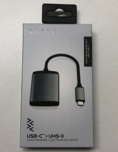 UHS-II Micro/SDカードリーダー